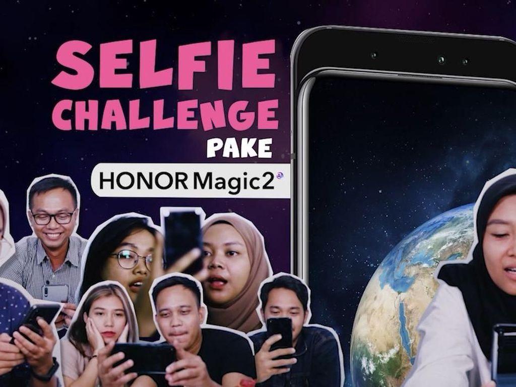 Selfie Challenge Pake Honor Magic 2: Gagal Semua!