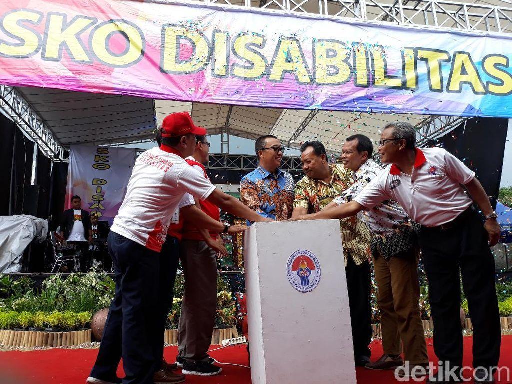 Pertama di Indonesia, Sekolah Olahraga Disabilitas Dibuka di Solo