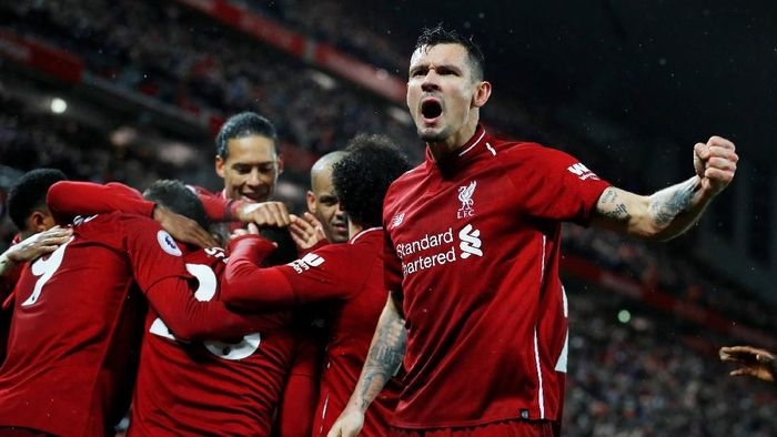 Bek Liverpool, Dejan Lovren. (Foto: Phil Noble/Reuters)