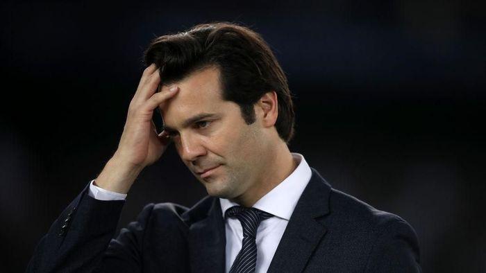 Pelatih Real Madrid, Santiago Solari. (Foto: Francois Nel/Getty Images)