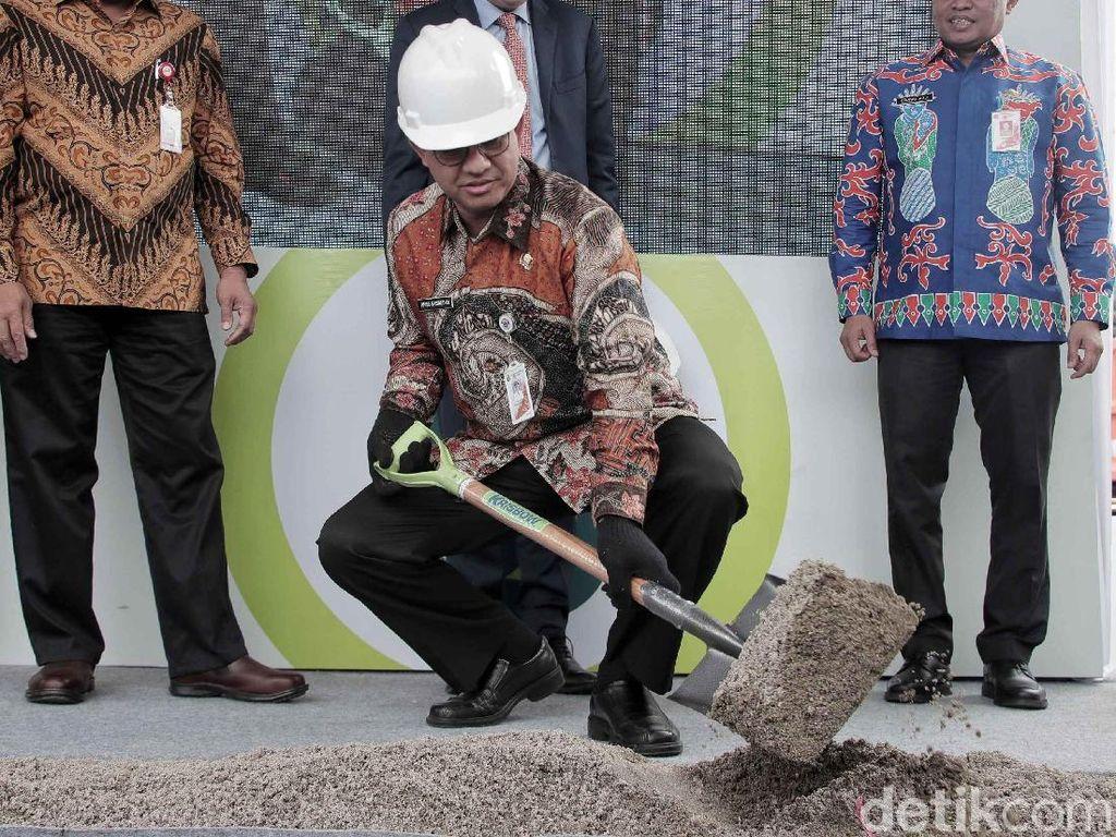 Anies Resmikan Pembangunan ITF yang Sanggup Mengolah 2.200 Ton Sampah