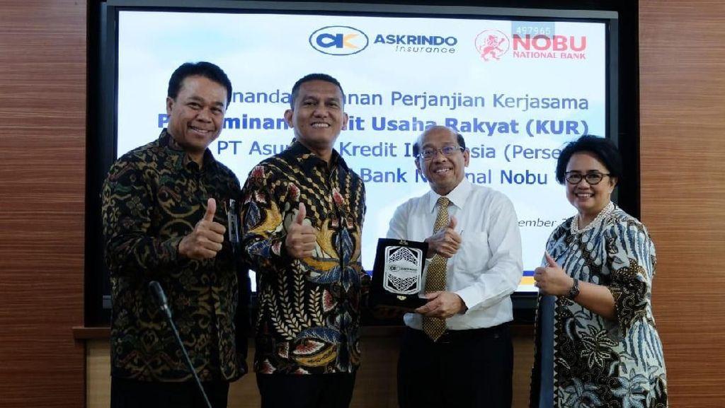 Askrindo dan Nobu Bank Jalin Kerja Sama