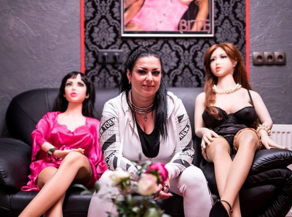 Mengintip Bordoll, Rumah Bordil Boneka Seks Pertama di Jerman