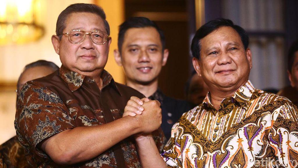 Salam Komando! SBY-Prabowo Minta Tak Diganggu