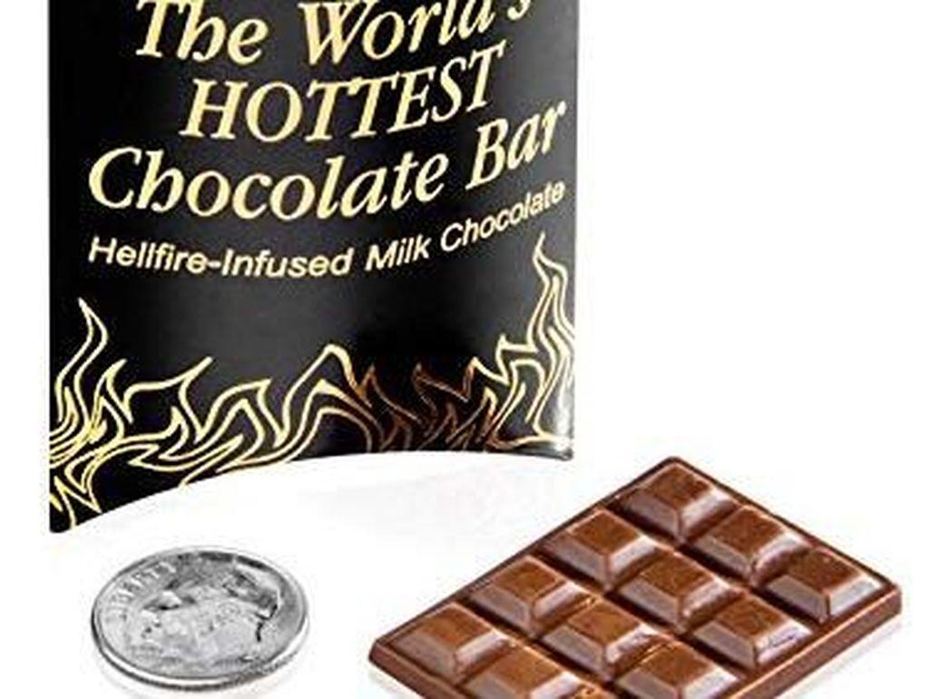Huaah! Ini Cokelat Batangan Terpedas Di Dunia!
