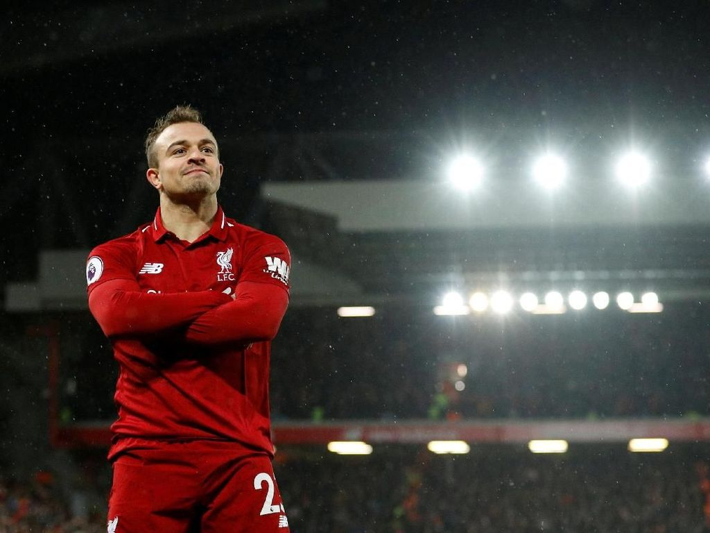 Punya Banyak Kenangan Manis, Shaqiri Negebet Ketemu Bayern