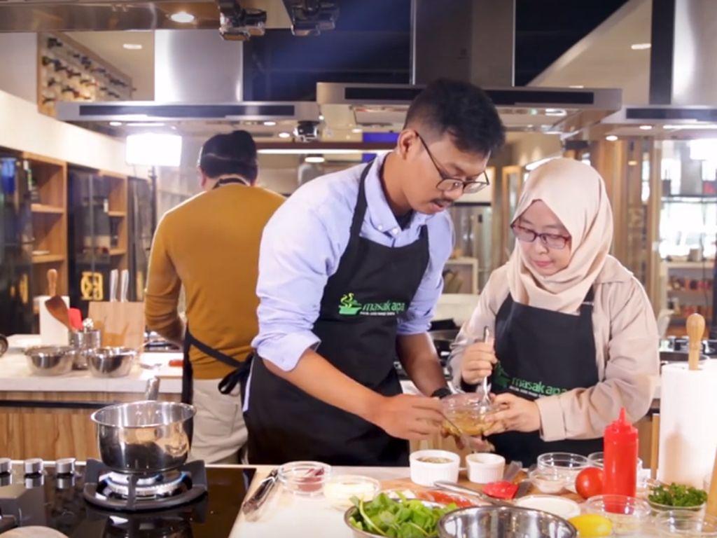 Tegang! Masak Tahu Back to Back dengan Chef Chandra