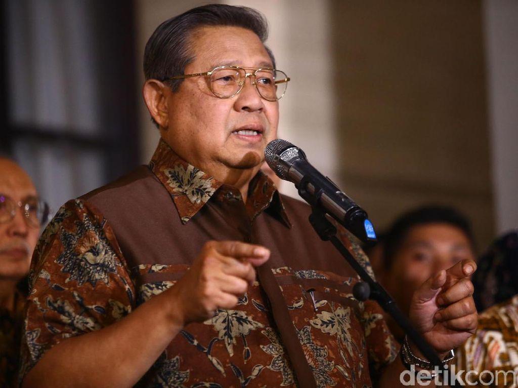 SBY Berlaga Lebih Awal