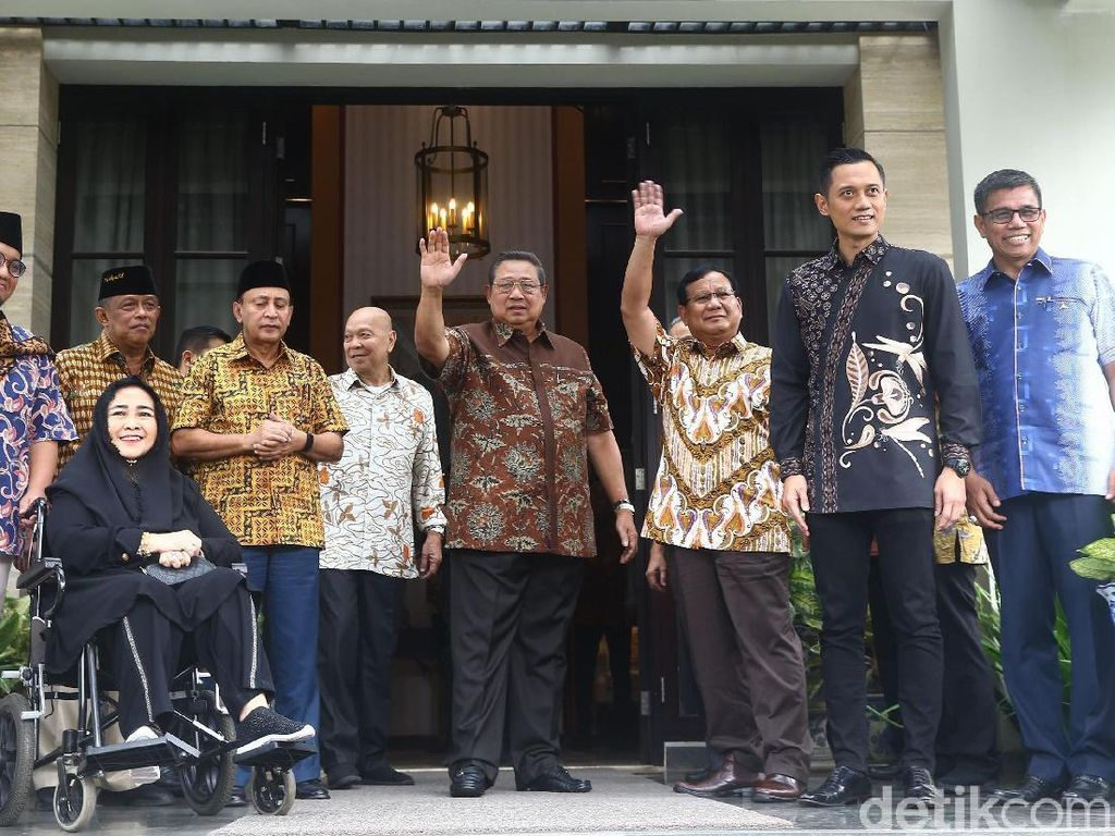 SBY: Prabowo Harus Lebih Aktif Kampanye