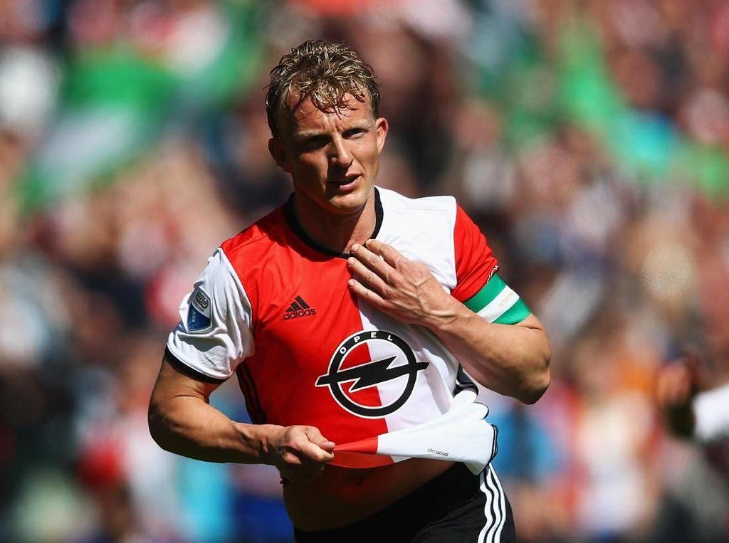 Dirk Kuyt & Henrik Larsson, Bos Baru Feyenoord Musim Depan