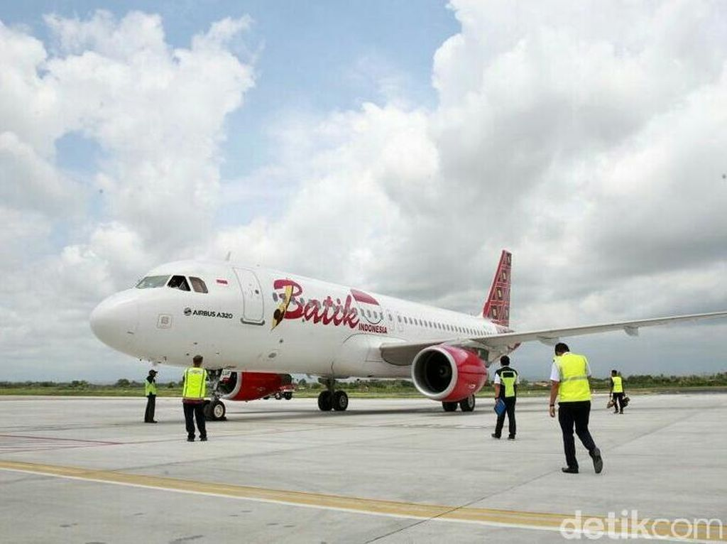 Imbas Corona, Pilot Batik Air Ditawarkan Cuti di Luar Tanggungan