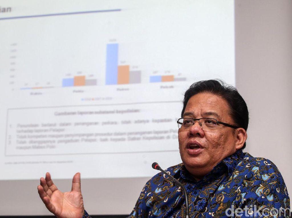 Ombudsman Jabarkan Rapor Lembaga Penegakan Hukum di Indonesia