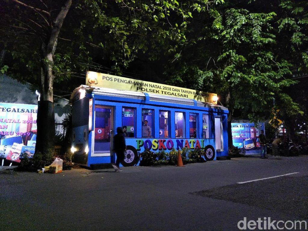 Asyik, Ada Bus Tayo Parkir di Surabaya