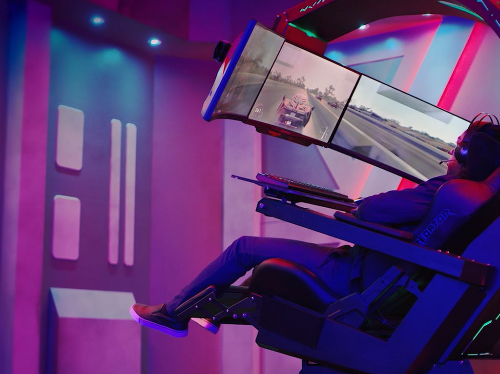 Acer Bawa Kursi Gaming Rp 200-an Juta ke Indonesia