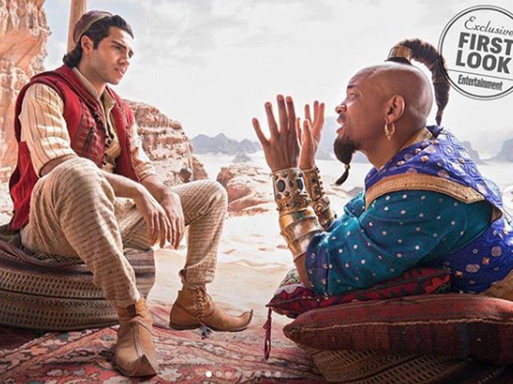 Will Smith Traktir Mac and Cheese untuk Pemain dan Kru Film Aladdin