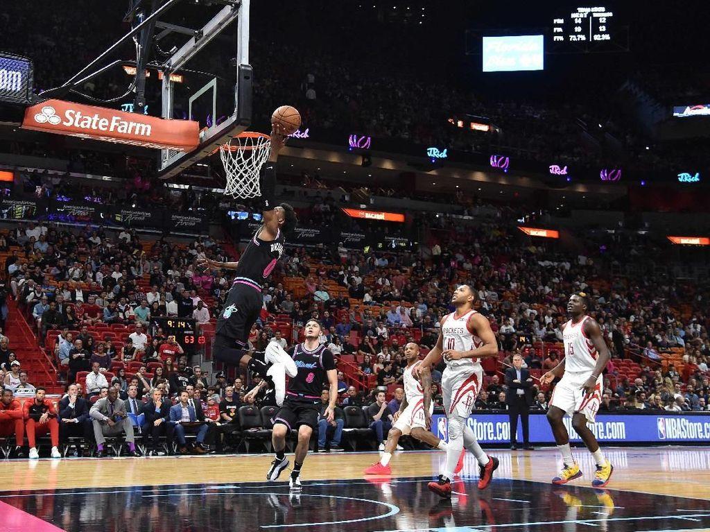 Hasil NBA: Heat Hentikan Rangkaian Kemenangan Rockets
