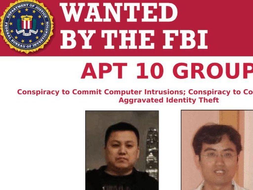 Dituduh Curi Rahasia Dagang, 2 Hacker Pemerintah Cina Diadili di AS