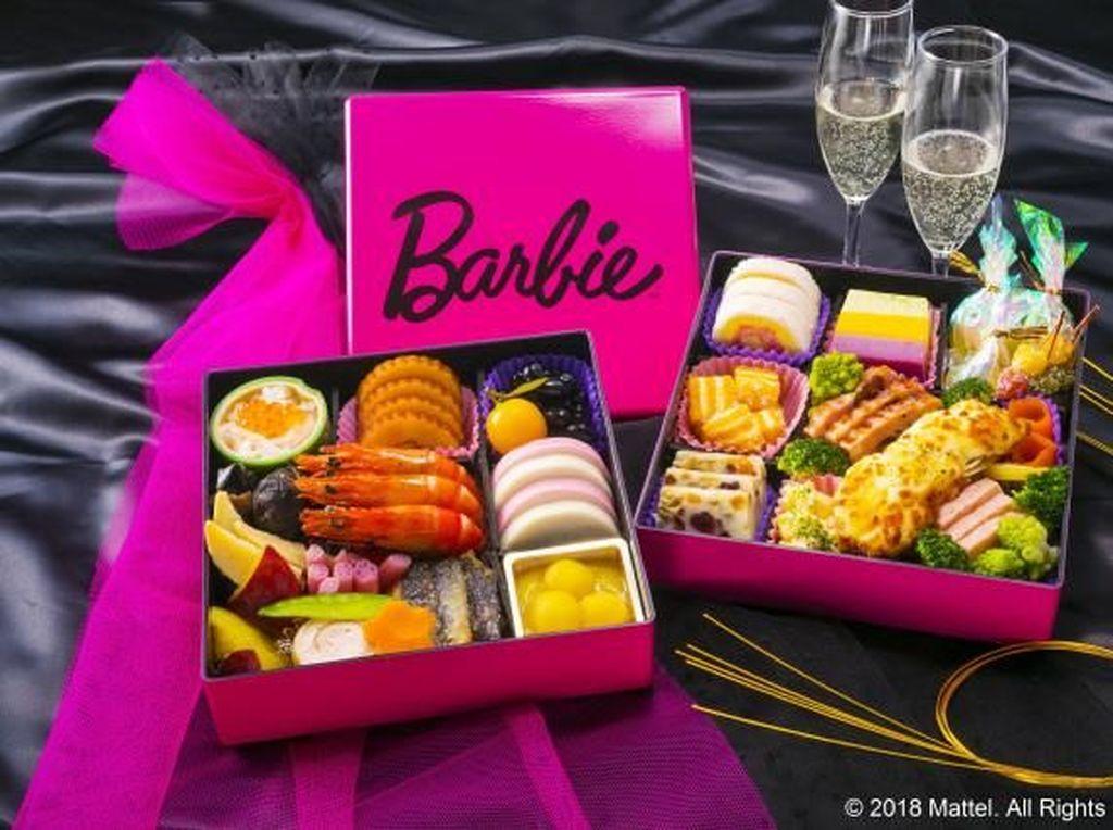 Sambut Tahun Baru, Ada Bento Bertema Barbie yang Menggemaskan