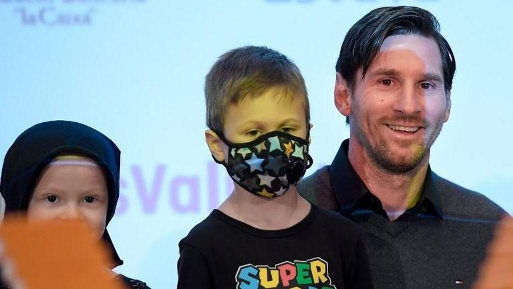 Messi dan Pesepakbola Dermawan Lainnya