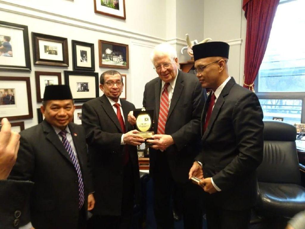 Bertemu Kongres AS, F-PKS Bahas Isu Palestina hingga Muslim Uighur