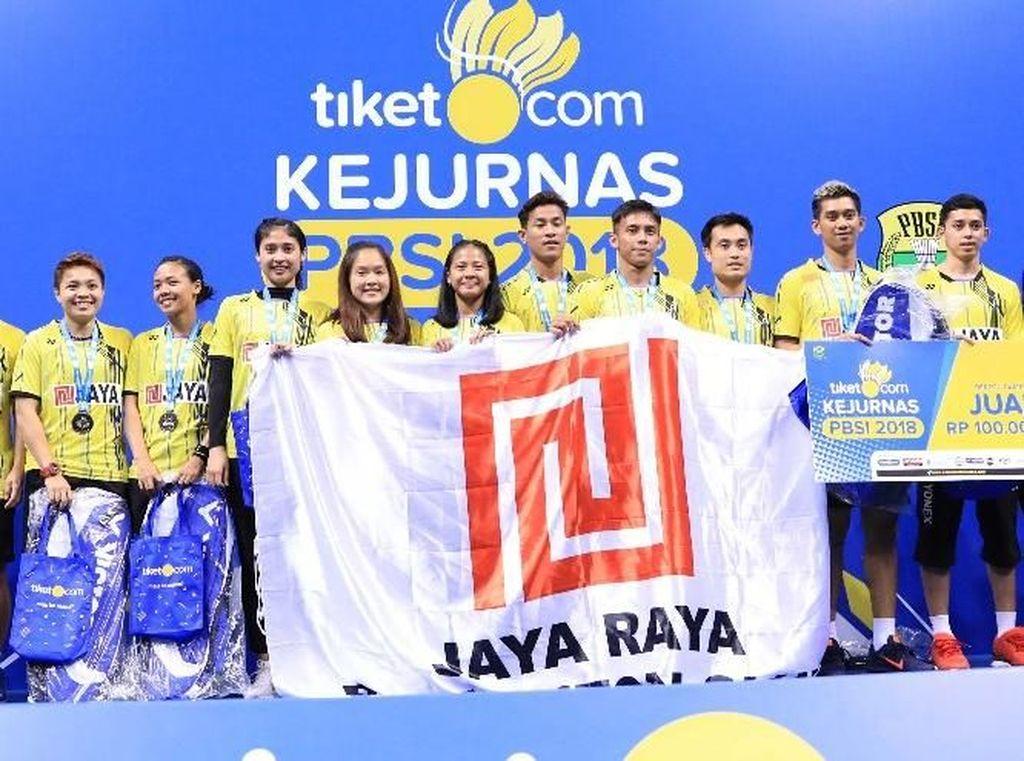PB Jaya Raya Juara Kejurnas Bulutangkis 2018