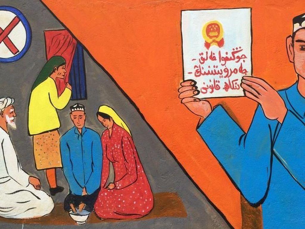 Kazakhstan Tahan Pencari Suaka dari Xinjiang yang Masuk Secara Ilegal