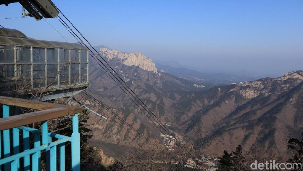 Foto: Gunung Cantik di Korea Selatan