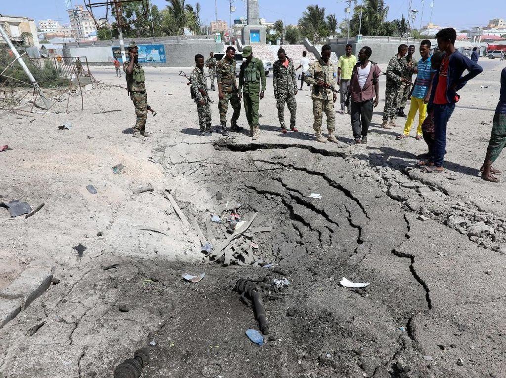 Bom Bunuh Diri Dekat Istana Presiden Somalia, 6 Orang Tewas