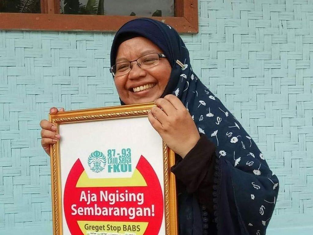 Kisah Ibu Asal Banten Bikin 10 Ribu Jamban bagi Warga Tanpa Dana Pemerintah