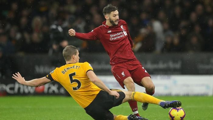 Wolves melawan Liverpool bergulir di Molineux Stadium, Sabtu (22/12/2018) dinihari WIB. (Foto: David Rogers/Getty Images)