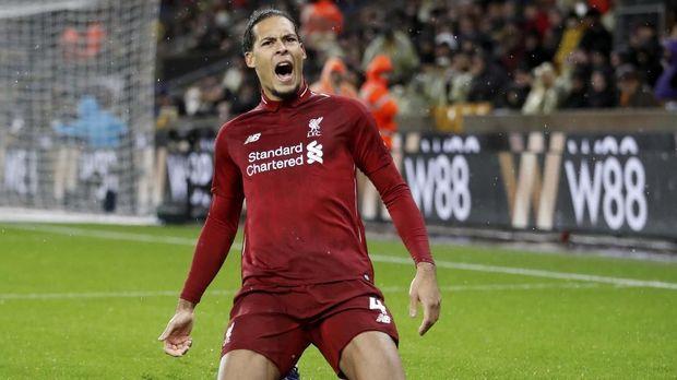Virgil van Dijk jadi faktor utama kesolidan pertahanan Liverpool. (