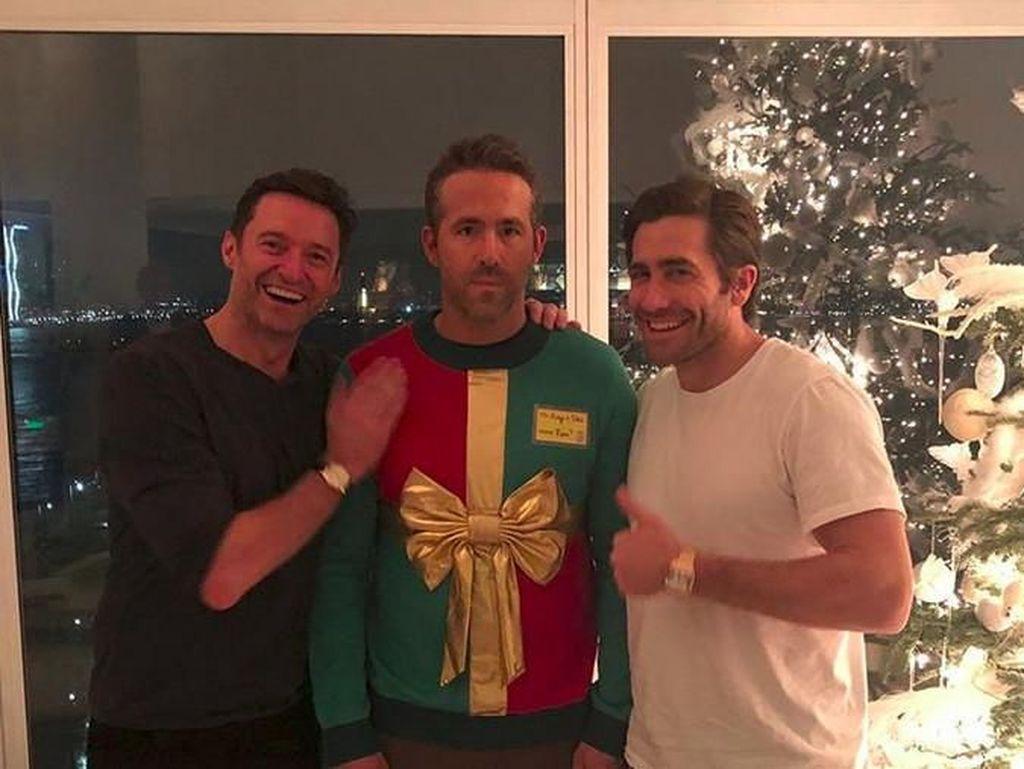 Ngakak! Saat Deadpool Dikerjain Hugh Jackman dan Jake Gyllenhaal