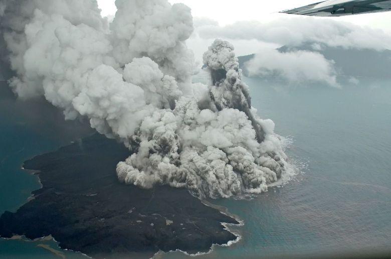 Gunung Anak Krakatau Siaga, Badan Geologi: Pelayaran Masih Aman