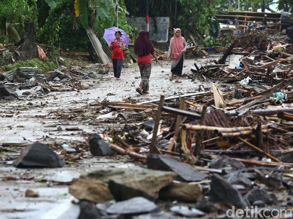 Putin hingga Ozil Sampaikan Duka untuk Korban Tsunami Selat Sunda