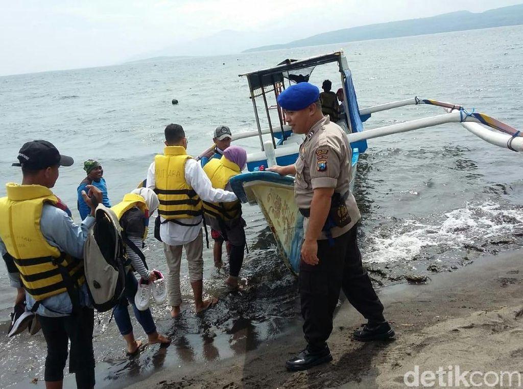 Waspada Tsunami, Polisi Maksimalkan Pengamanan Wisata Laut Banyuwangi