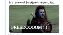 Meme-meme MU Langsung Menang Telak Bersama Solskjaer