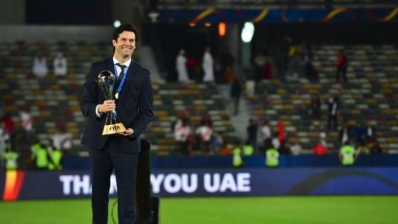 Madrid Juara Piala Dunia Antarklub, Solari Sebut-Sebut Zidane