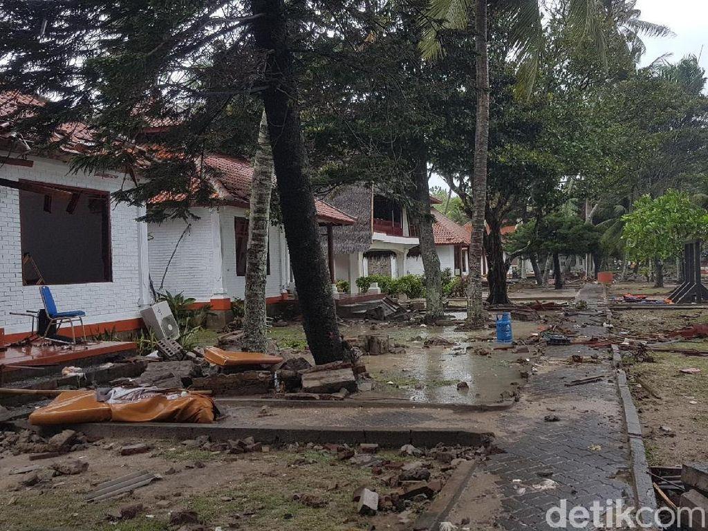 Tsunami di Anyer, Telkomsel Pasang Genset di BTS yang Padam Listriknya