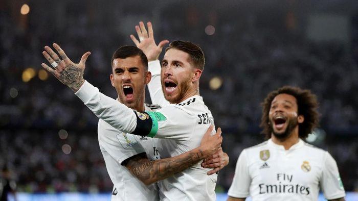 Real Madrid juara Piala Dunia Antarklub 2018. (Foto: Francois Nel/Getty Images)