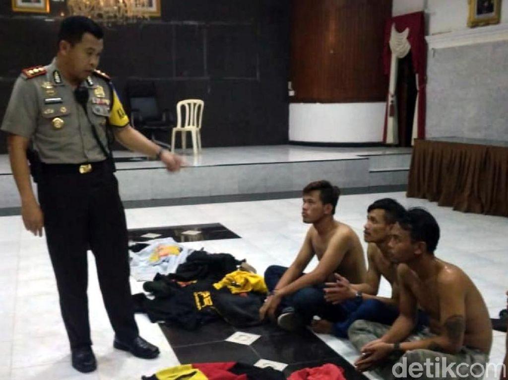 Kawanan Geng Motor Rusak Lapak Pakan Ikan di Sukabumi