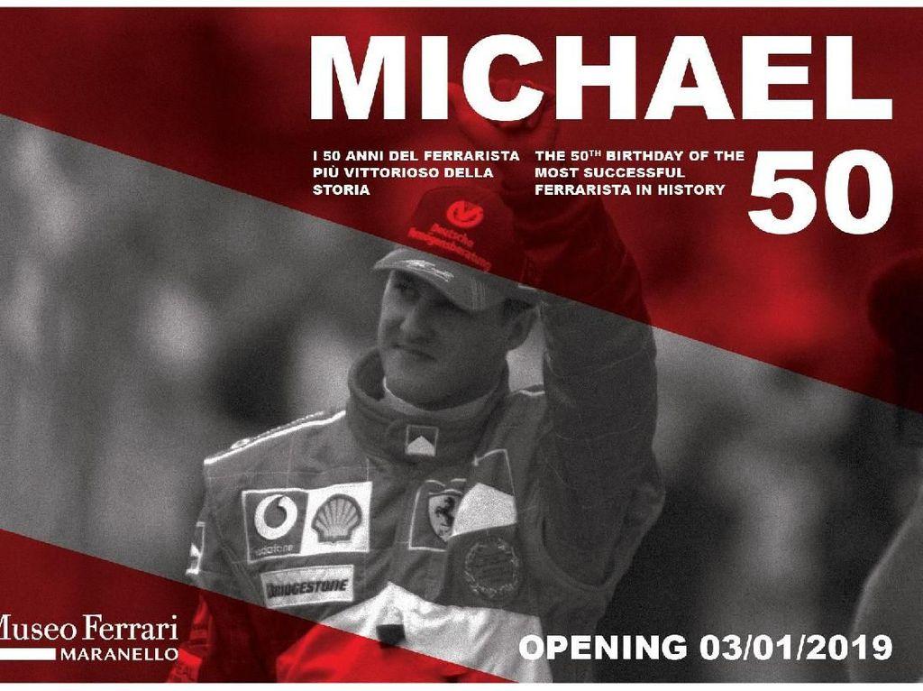 Penghargaan untuk Michael Schumacher di Museum Ferrari