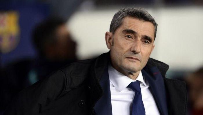 Kontrak Ernesto Valverde diperpanjang hingga 2020 (Josep Lago/AFP)