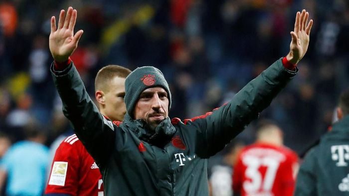 Franck Ribery dikabarkan menuju Fiorentina (Foto: Kai Pfaffenbach/Reuters)