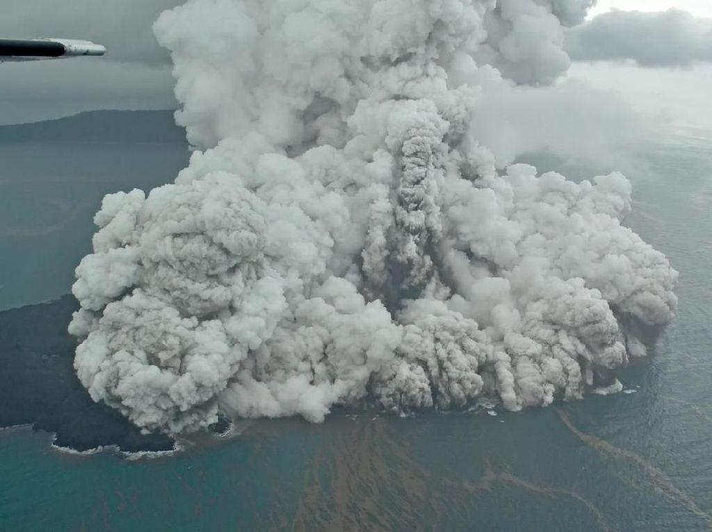 Anak Krakatau Memulihkan Diri? Begini Analisis Geolog