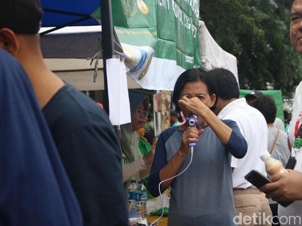 Sehatkah Paru-Paru Kamu? Cek Gratis di CFD Sudirman Dibanjiri Warga