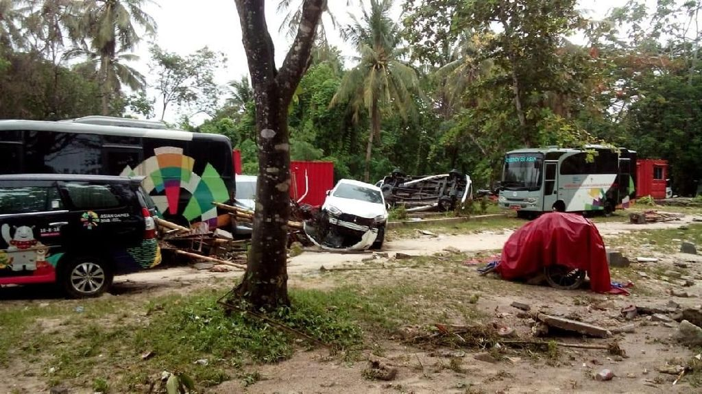 Rombongan Kemenpora Jadi Korban Tsunami Anyer, Menpora Kirim Doa