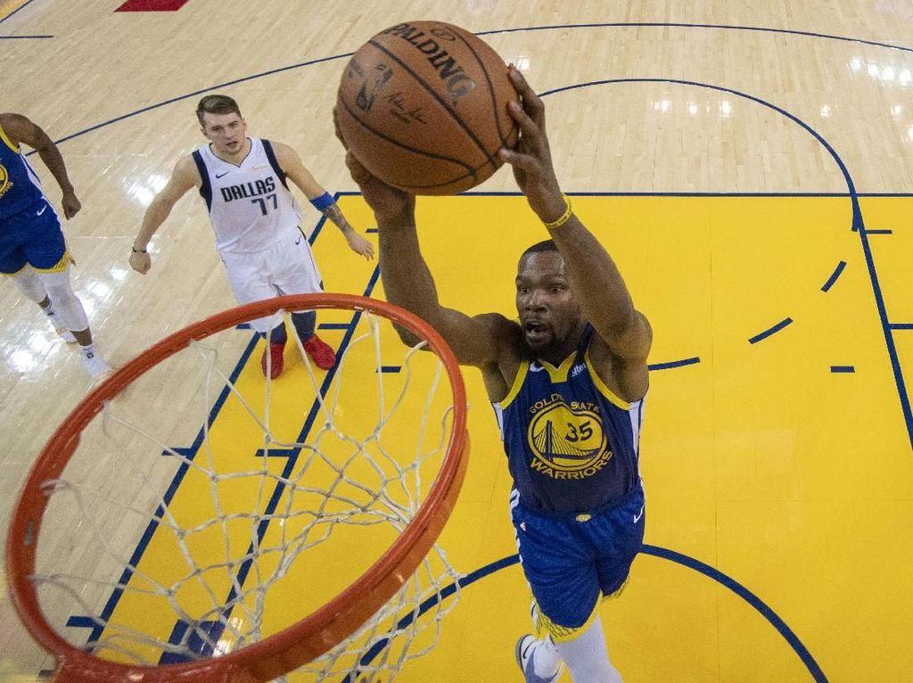 Hasil NBA: Durant 29 Poin, Warriors Atasi Mavericks