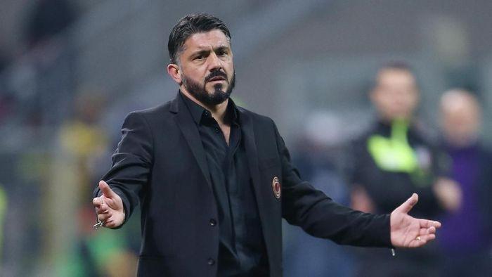 Gennaro Gattuso berharap masih bisa melatih AC Milan musim depan (Getty Images)