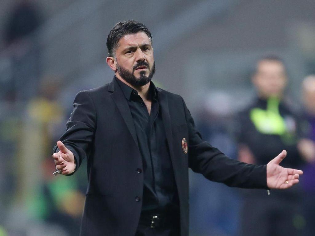 Milan Akan Pisah Jalan dengan Gattuso