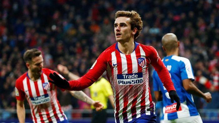 Harga transfer Antoine Griezmann diakali Barcelona, Atletico Madrid menuntut (Javier Barbancho/Reuters)